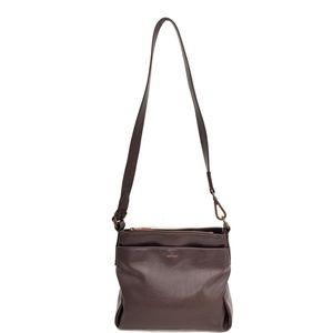 Matt & Nat Brown Faux Leather Crossbody Bag